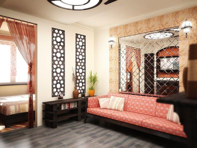 мароканнский стиль в интерьере
