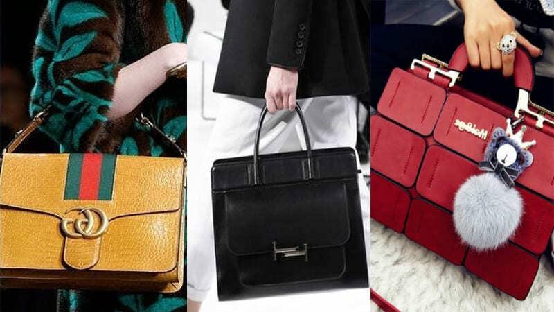 Женщина и ее сумка