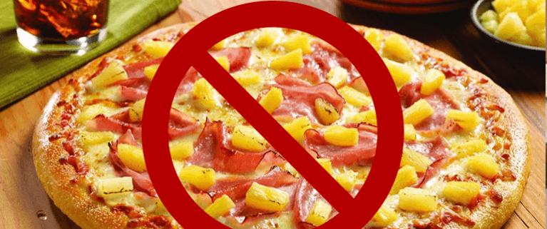 ТОП 5 запрещенных блюд