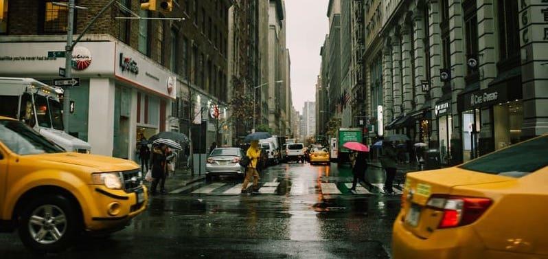 путешествие в Нью Йорк